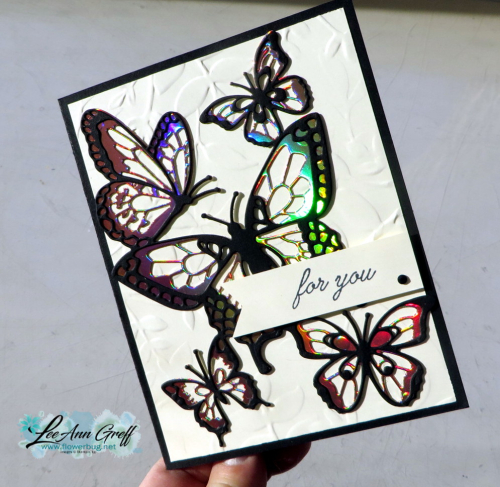 Beauty Abounds & SAB foil sheets