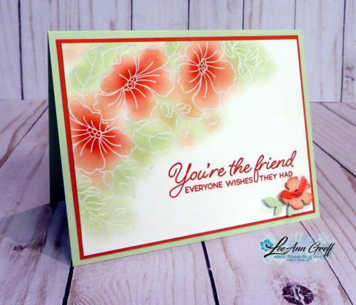 Blended seasons floral resist