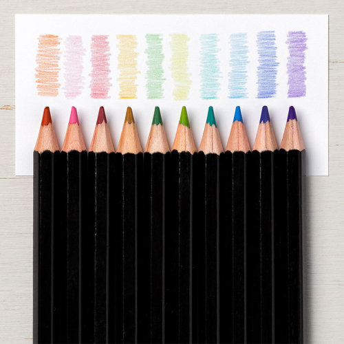 Watercolor pencils assortment 2