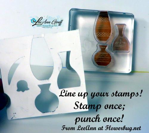 Varied Vases punch tip