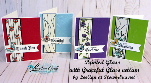 June Painted Glass club cards