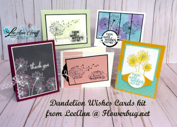 Dandelion Wishes cards