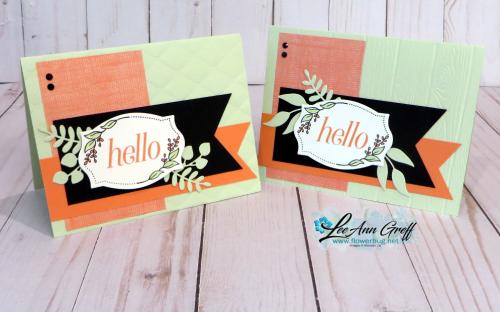 July Floral Frames club cards