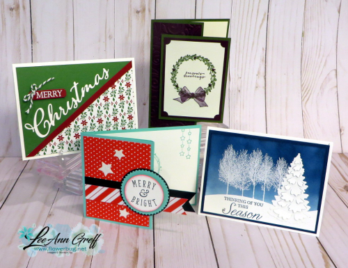 Christmas stamp a stack 4
