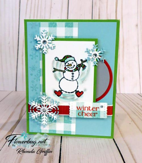 Spirited Snowman swap Rhonda Griffin