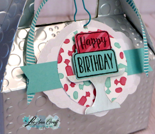 Piece of cake tag