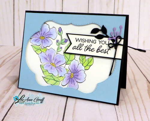 Blended seasons floral vellum