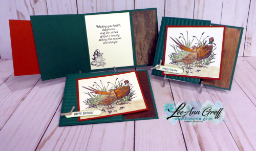 Sept pleasant pheasant cards