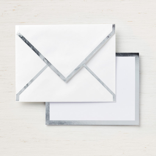 Foil edged envelopes