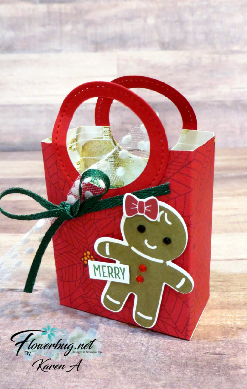 Karen A Christmas treat bags