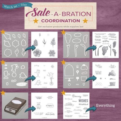 March SAB coordinating items