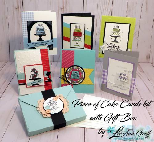 Piece of Cake cards & box
