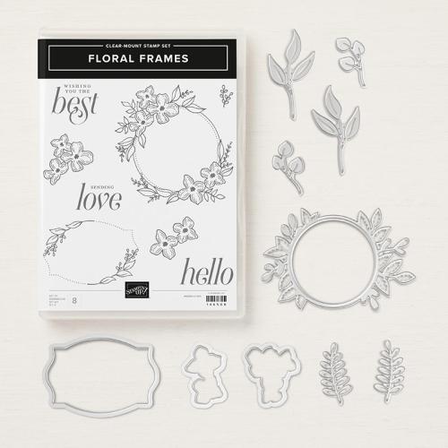 Floral Frames bundle
