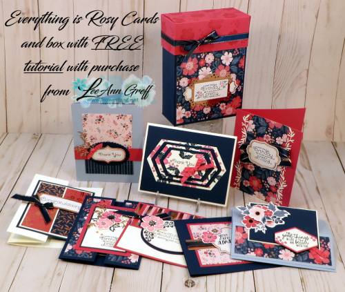 Everything is Rosy cards & box1