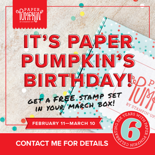 Paper Pumpkin turning 6