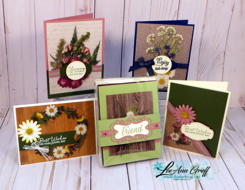Pressed Petals & cards box