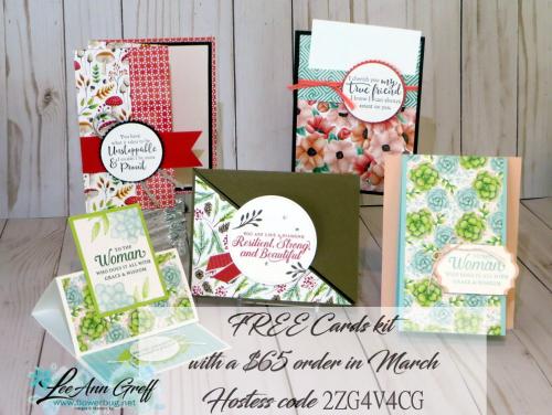 Painted Seasons cards kit