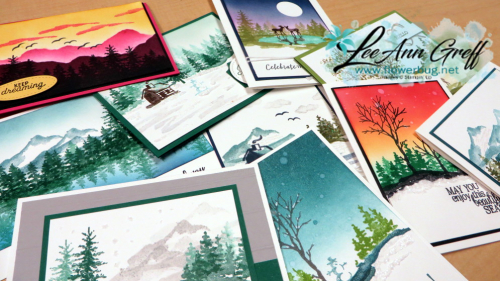 Snowfront cards