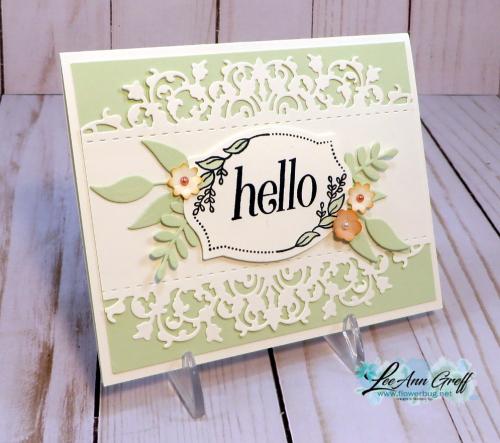 Floral Frames & Delicate Lace  Edgelits