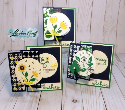 Bloom by Bloom Fun Fold cards