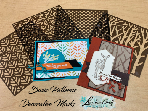 Basic Patterns Decorative Masks
