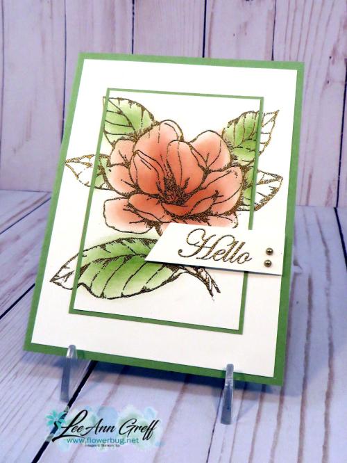 Good Morning Magnolia embossed - Copy