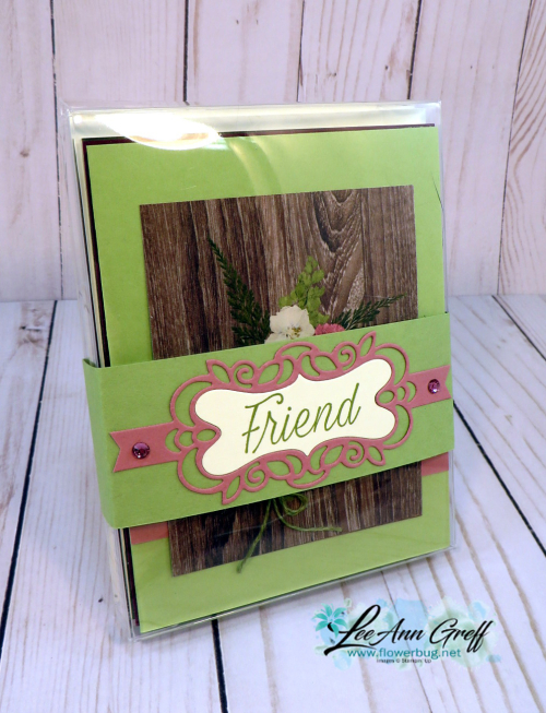Pressed Petals card box