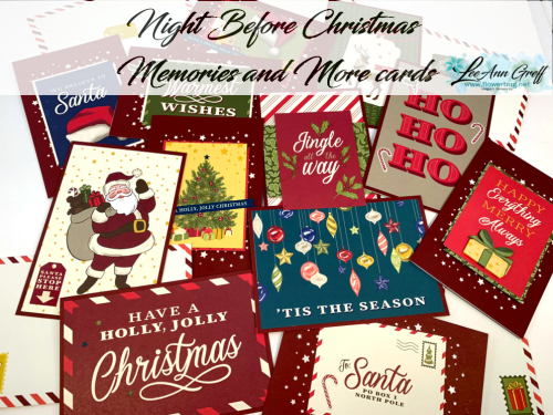Night Before Christmas cards