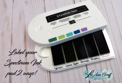 Spectrum ink pad