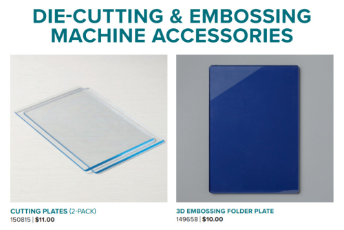 Cutting & embossing plates