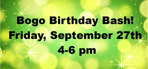Bobo Birthday Bash