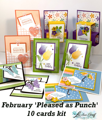 Pleased as Punch Feb cards