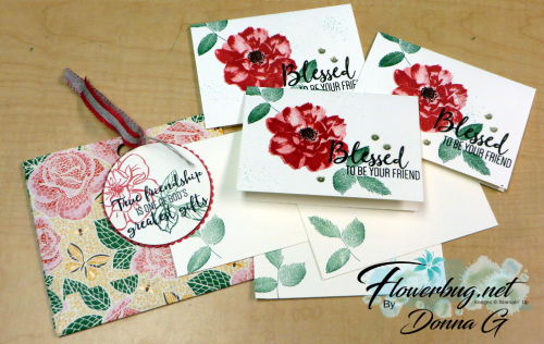 Envelope & cards by Donna Griffith