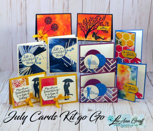 July See a Silhouette cards