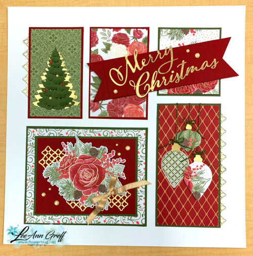 Christmastime is here sampler