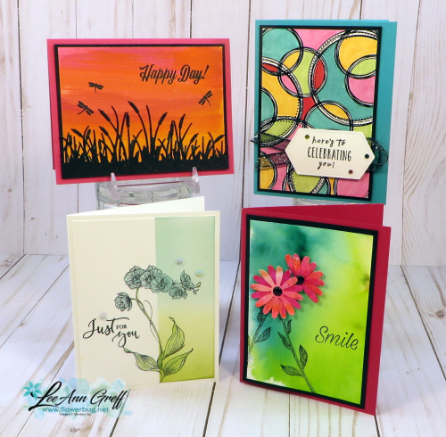 August Technique Cards