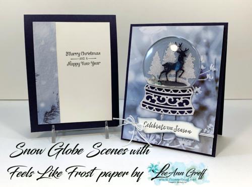 Novemer Snow Globe Scenes