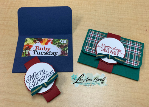 Wrapped in Plaid gift cards