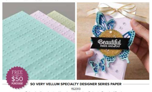 So Very Vellum paper