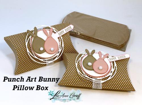 Pillow box bunny