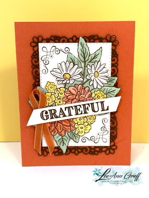 Floral spray grateful