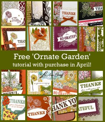 Ornate Garden collage
