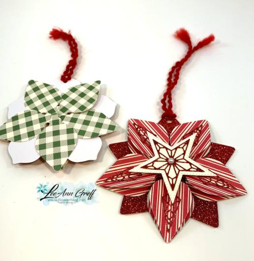 Christmas gleaming ornaments..