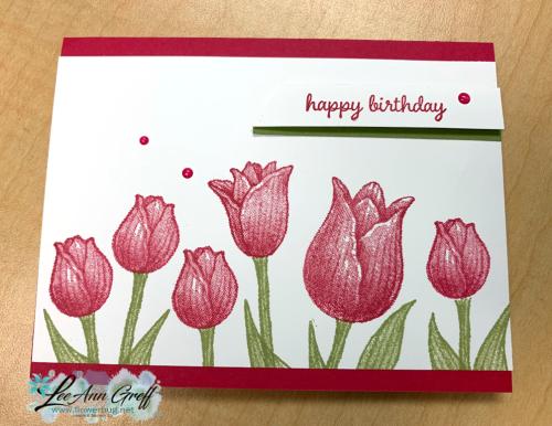 Timeless tulips Lovely Lipstick