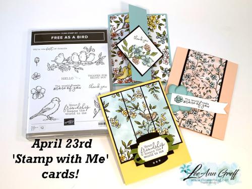 April 25th cards