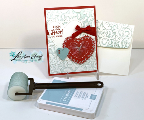 Valentines brayer card