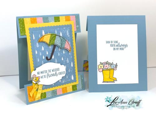 February Under My Umbrella cards