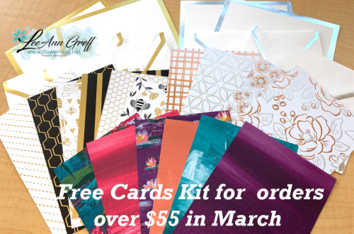 March cards kit free