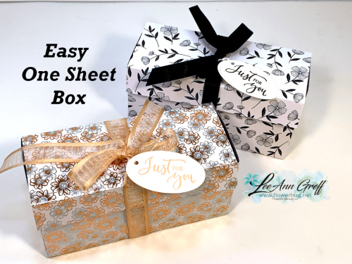 One Sheet Box duo