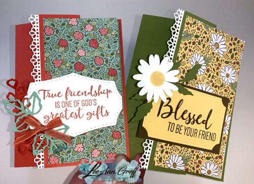 Ornate Garden Fun Fold cards